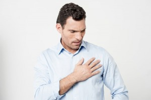 41630339 - man suffering from chest pain, heart attack.