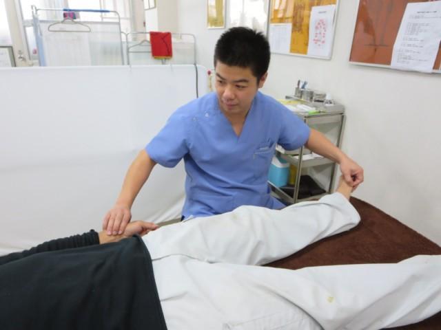鍼灸治療の写真