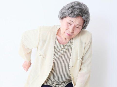 高齢者の腰痛と主な原因の写真