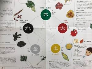 陰陽五行説の説明の図