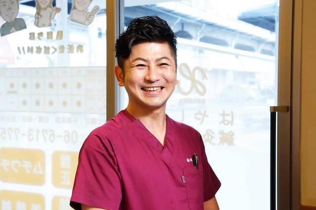 はやしだ鍼灸整骨院  代表 林田泰幸 写真